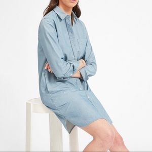 Everlane Jean Shirtdress MSRP $75